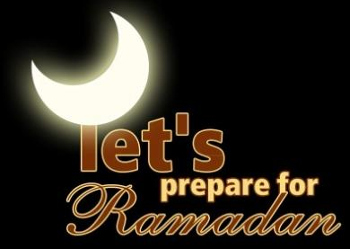 Lets Prepare for Ramadan
